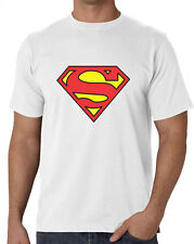 Superman T Shirt  White Color at Lowest Price