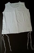 KOSHER TALLIT/TALLIS KATAN TZITZIT 100% COTTON  all Sizes - Israel judaica gift