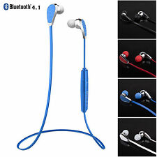Bluetooth Headset HIFI Stereo Earphones with Mic Headphone for iPhone Samsung LG