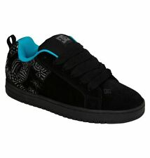 DC SHOES SKATE COURT GRAFFIK SE SD BLACK PRINT  MENS UK SIZES 8 - 12 RRP £67