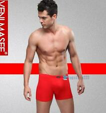 New Men's Underwear Sexy Boxer Briefs M L XL XXL Size Cotton Shorts Red Canada