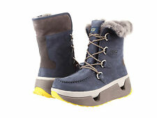 $300 NEW UGG Auden Men Navy Waterproof  Leather Sheepskin Snow Boots 9 10 11
