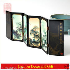 Chinese fashion Mini Folding Screen byobu Free Shipping of Home decor and Gift