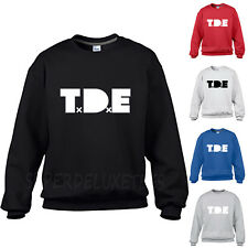 TDE Kendrick Lamar Ab-Soul Crewneck Sweatshirt Top Dawg Entertainment Hoodie Rap