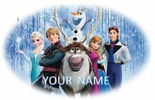 FROZEN DISNEY IRON ON HEAT T-SHIRT TRANSFER PERSONALISED