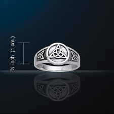Celtic Knotwork Triquetra Ring  Charmed Symbol Trinity Knot