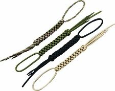 WEB-TEX TACTICAL WOVEN 2.2 METRE PARACORD ZIP PULLER LANYARD bushcraft survival