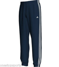 adidas boys navy essentials woven track pant. Tracksuit bottom. Age 9-10 & 11-12