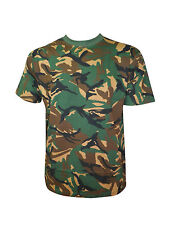 MENS SMART MILITARY CAMOUFLAGE T SHIRT CAMO ARMY COMBAT NEW
