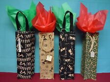 Wine gift bags made with natural fiber Jute/Biodegradable friendly fiber