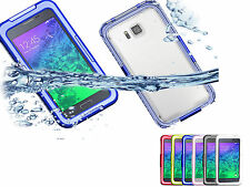 Durable Waterproof Shockproof Silicone Case for Samsung Galaxy Alpha SM-G850