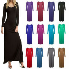 LADIES LONG BRIDESMAID FORMAL EVENING PARTY  BUCKLE  MAXI PARTY DRESS  8 - 26