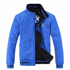 new 2014 spring and autumn season blue jacket for BMW fashion leisure coat