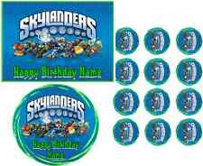 EDIBLE IMAGE SKYLANDERS ICING SHEET PARTY TOPPER CAKE OR CUPCAKES