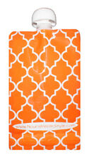 5, 10 & 20 Pack  Orange Creamsicle | Nourish Reusable Baby Food Pouch