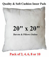 "20"" Cushion Inner Inserts Synthetic Cushion Pads Hollowfibre Filling"