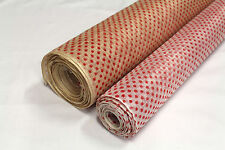 Sinamay Patterned Small Spot - 2 types - Price per metre - Millinery Fabric