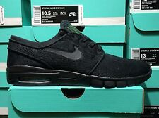 Nike SB Stefan Janoski Max black pine green 631303-003 sizes 6-14