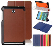 Auto Sleep Ultra Thin Tri-Fold Flip Leather Cover Stand Case For Various Tablet