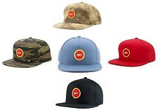 New Obey Circle Patch Camo or Red Snapback Hat Cap