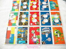 KIDS ROOM - BOYS ROOM 2 - CUSTOM MADE SWITCHPLATE COVERS - VARIOUS DESIGNS