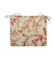 NAUTICAL CORAL REEF Outdoor PATIO SEAT CHAIR CUSHION PAD - 5 SIZES