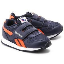 Reebok classic royal jogger blue synthetic velcro baby casual trainers size 1-9