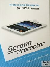 Ultra Clear & Anti Glare Screen Protector Apple iPad 4 3 2 iPad Air iPad Mini