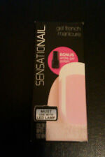 SensatioNail Gel Polish French Manicure,choose Clear or Sheer Pink, new unopened
