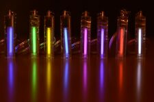 Tritium Kitmarker in K9 Crystal with 25mm vial. Illuminated keychain in 9 colors