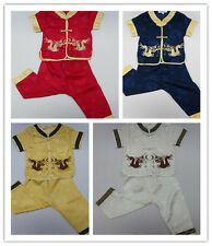 Oriental Chinese Mandarin Costume Suit for Boy Boys' and girls' dressy clothing
