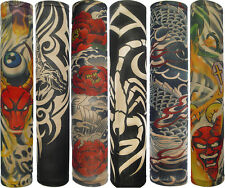 Best-Selling New Fashion Lot 3Pair Temporary Fake Slip on Tattoo Arm Sleeves Kit