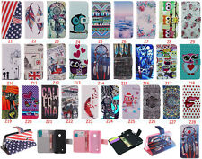 Fashion Flip Wallet Cute Pattern PU Leather Stand Case Cover For Nokia 530 N530