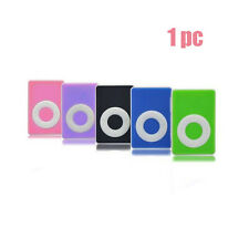 High Quality USB Mini Clip MP3 Player Support Up to 8GB Micro SD TF Card 5Colors