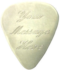 Custom engraved valentines day message guitar pick  & gift pouch, ideal present