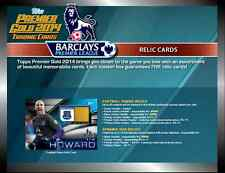 2014 TOPPS PREMIER GOLD EPL FOOTBALL/SOCCER JERSEY RELICS/FIBERS CHOOSE PLAYERS