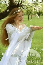 "Medieval Costume , White Medieval Wedding Dress ""Isolde"""