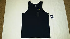 NEW Nike Men's Embroidered Swoosh C/O Tank Top 4 Sizes NAVY BLUE 611945 475