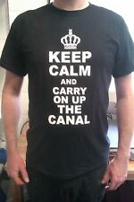 KEEP CALM TSHIRT, ALL SIZES, canals, canal boats for sale, narrow boats, boats