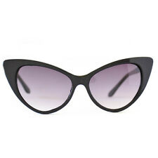 Black Cat Eye Sunglasses Retro Classic Vintage Design Women's Fashion Shades