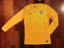 NEW NIKE Authentic USA Goalkeeper Soccer Long Sleeve Jersey World Cup retail$150