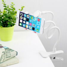 Universal Lazy Bed Desktop Car Stand Mount Holder For Cell Phone Long Arm SC