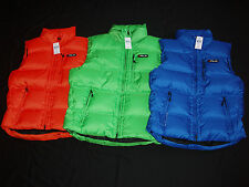 Polo Ralph Lauren RLX Down Filled Feather Sleeveless Ski Vest Golf Jacket Hoodie