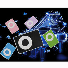 5 Colors Support  Up To 2-8GB Mini Clip USB MP3 Player Micro SD TF Memory Card