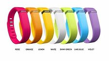 New 1PC Large Band Made for Fitbit Flex Bracelet Multi-color+ Clasp NO Tracker