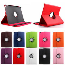 360 Degree Rotating Smart Cover PU Leather Case With Stand For iPad Air 2