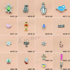 1X 2015 New Style Floating Charm For Glass Living Memory Lockets Fashion Jewelry