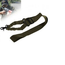 Military Army Tactical Adjustable 1 Point Airsoft Rifle Gun Sling Elastic Strap