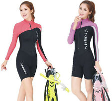 Neoprene & Lycra Rash Guards Diving Suits Snorkeling Surfing Swimming Jumpsuits