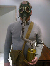 Gas Mask GP-4 with bag hose and filter Soviet Russian New Genuine Vintage